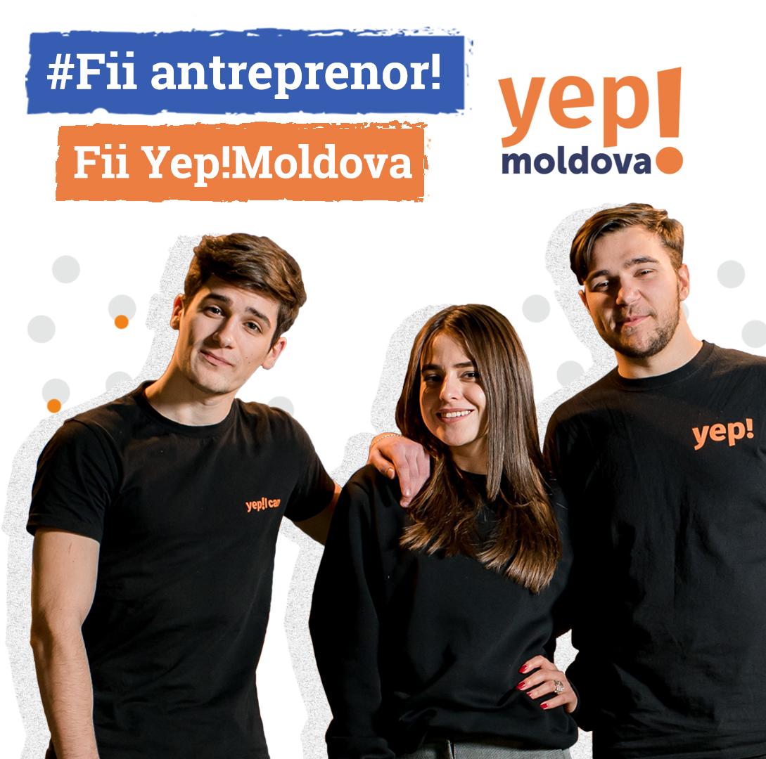 #FII ANTREPRENOR. FII YEP!MOLDOVA