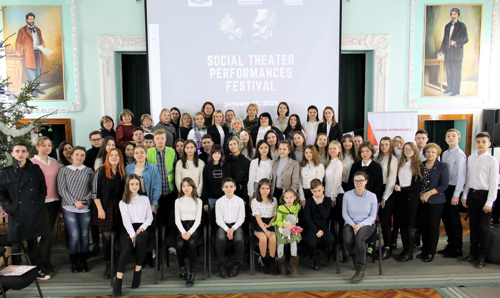 Promovarea unor valori americane prin intermediul teatrului social