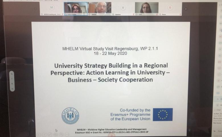 Retrospectiva unei săptămâni de studiu online in cadrul proiectului MHELM