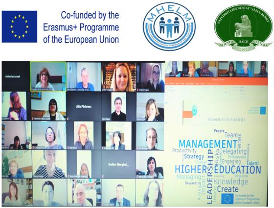 O nouă săptămână de training online in cadrul proiectului MHELM