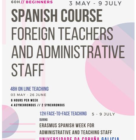 Săptămâna Internațională la Universitatea din Coruña, 2021!