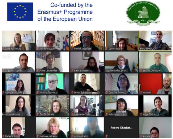 Reuniunea de lansare a proiectului CONNECT