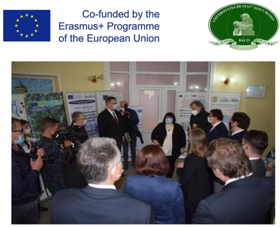 TÂRGUL PROIECTELOR ERASMUS+, EDIȚIA A VI-A,ORGANIZAT ÎN CADRUL ZILELOR EUROPEI ÎN USARB 2021