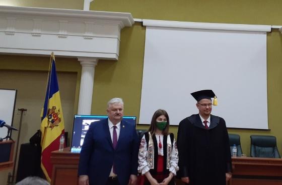 """Titlul onorific de """"Doctor Honoris Causa"""" conferit E. S. Bartłomiej Zdaniuk"""